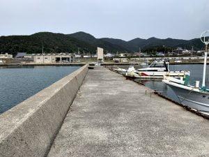 中紀のエギングポイント三尾漁港