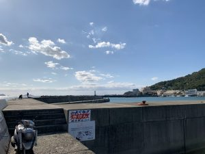 和歌山エギングポイント和歌浦新波止