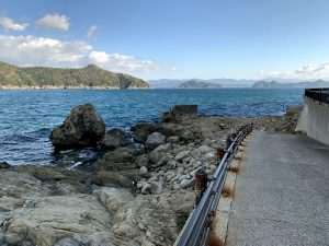 和歌山中紀のエギングポイント衣奈釣り公園