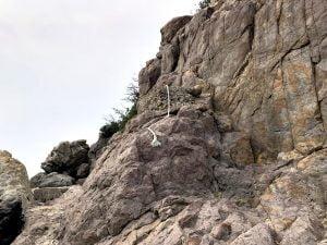 和歌山中紀のエギングポイント田杭の小波止