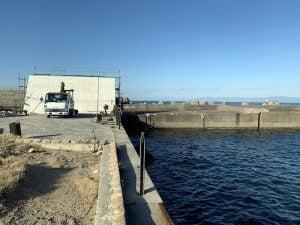 和歌山紀北のエギングポイント水軒鉄鋼団地