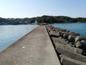 跡之浦漁港エギングポイント